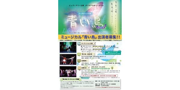 ミュージカル「青い鳥」2019出演者募集!