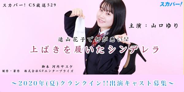 スカパー!529ch新ドラマ「上ばきを履いたシンデレラ」キャストオーディション